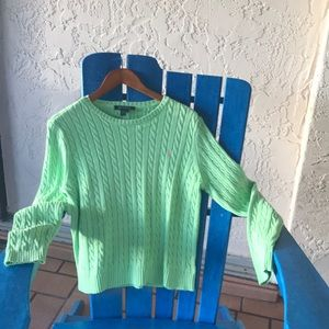 Lauren Cotton Sweater Medium